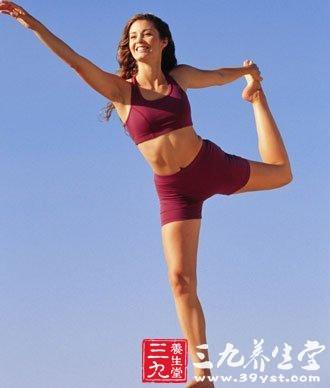 学瑜伽九动作 小腿曲线更美妙