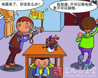 甘肃张掖地震4.0级深度6公里 遇到地震我们怎
