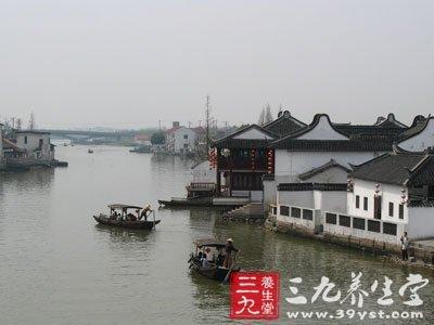 清明简单的水墨画-上海清明节踏青,朱家角镇风景好,清明节踏青图片,关于清明节踏
