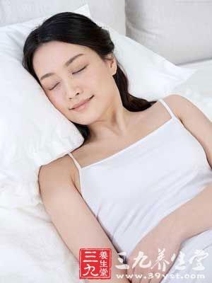 开灯睡觉时褪黑色素的分泌就会受到抑制
