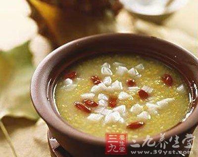 姜艾薏苡仁粥