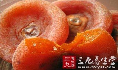 柿饼含糖高