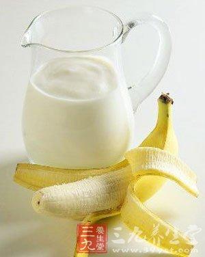香蕉牛奶蜂蜜的功效与作用
