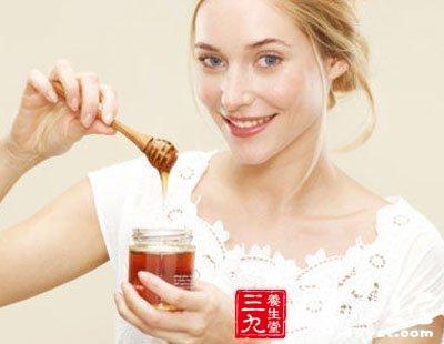 蜂蜜护肤养颜抗衰老