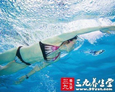 控制呼吸、在水中憋气
