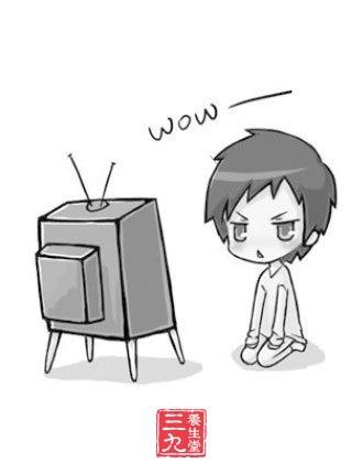 新闻联播卖萌 常看电视对孩子身心有什么影响