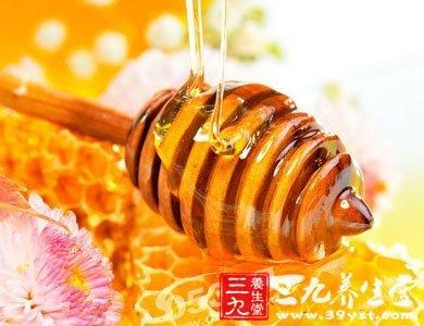蜂蜜具有抗菌消炎、促进组织再生