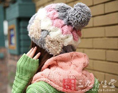 绒绒线动物帽子