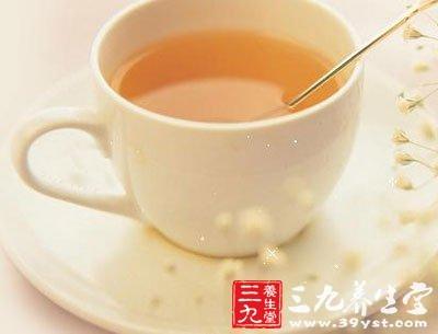 蜂蜜玫瑰花花茶两杯