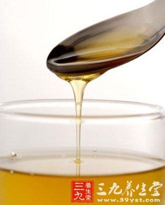 熬夜后一杯蜂蜜水