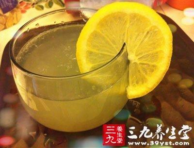 柠檬中的柠檬酸可防止和消除皮肤色素沉着