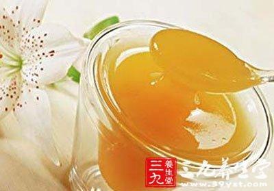 喝蜂蜜水可以抗菌消炎