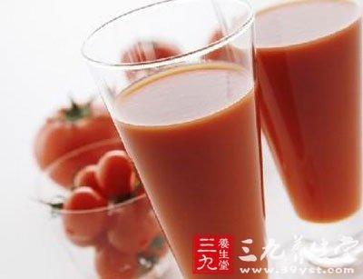番茄芒果汁