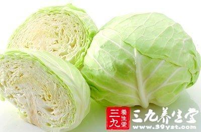 圆白菜富含维生素U预防胃溃疡恶变