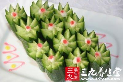 黄瓜富含多种维生素