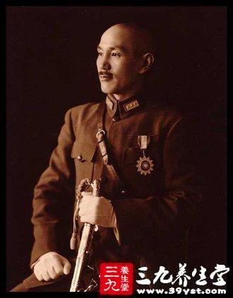 戒怒是蒋介石长寿的原因