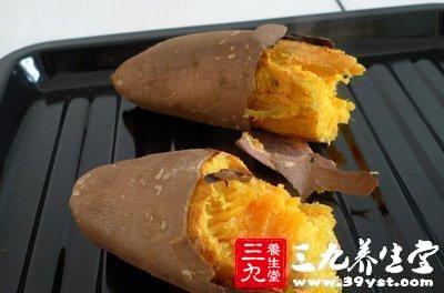 红薯皮含碱多