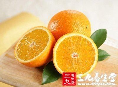 橙子--生津止渴、健脾温胃