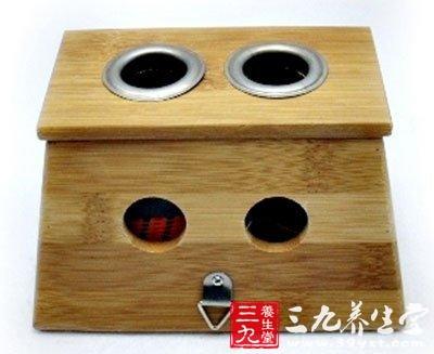 加厚型纯竹制制作的艾灸盒好