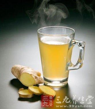 生姜蜂蜜水的功效