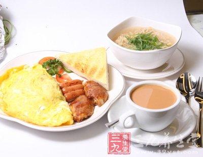 早餐更要吃好