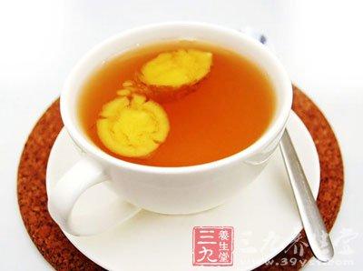 生姜蜂蜜水的作用与功效