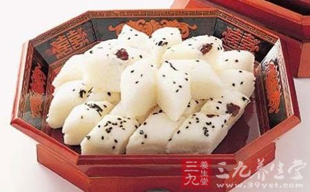 年糕是春节传统食物