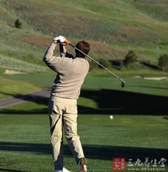 高尔夫与养生(2)