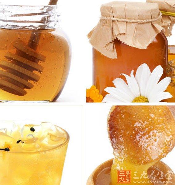 蜂蜜有美容护肤的功效