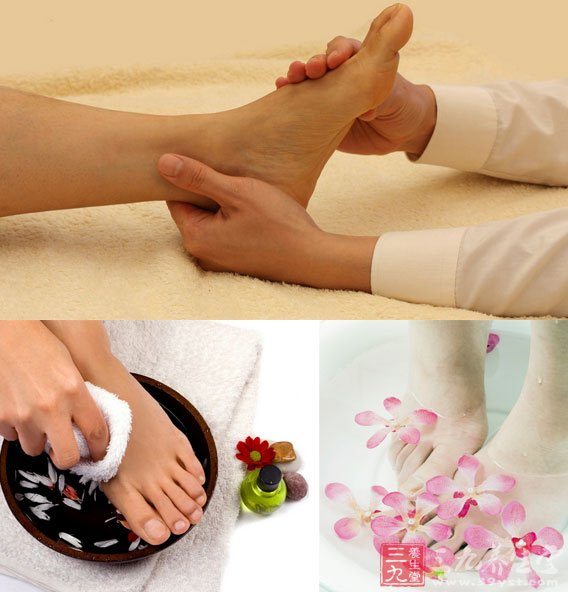 4、加强肠胃功能:多活动脚趾 根据中医经络理论,胃经通过脚的第二趾和第三趾之间,管脾胃的内庭穴也在脚趾的部位。 如果你的胃肠功能较弱,不妨经常锻炼脚趾,比如练习脚趾抓地,或者是用二趾和三趾夹东西,对经络形成刺激,持之以恒,胃肠功能就会逐渐增强,消化不良、便秘或腹泻等症状将会得到改善。 5、缓解腰酸背痛:光脚滚网球 背和脚看上去虽然离得很远,但足底肌膜、小腿肌肉与背部及颈部肌膜都有关联,如果你常常腰酸背痛,可以试试把网球或者高尔夫球放在脚底,从脚趾到足跟缓慢滚动按摩二至三分钟,就能舒缓背部肌肉紧张和疼痛的症
