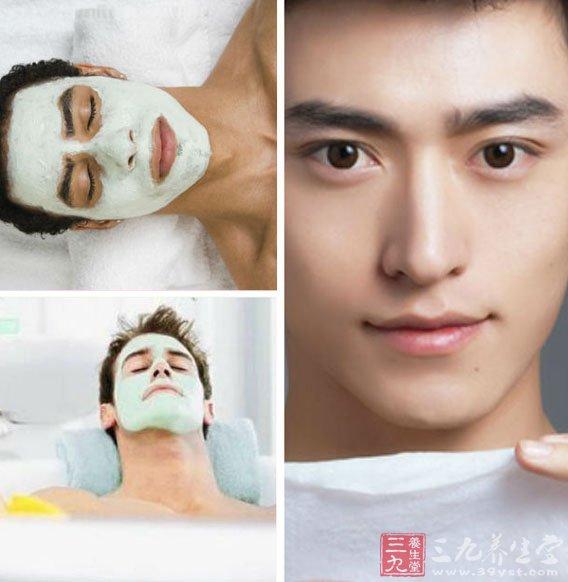 男士护肤步骤五:经常有规律的敷面膜