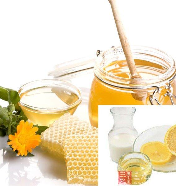 蜂蜜面膜能有效祛除皮肤上的黄斑