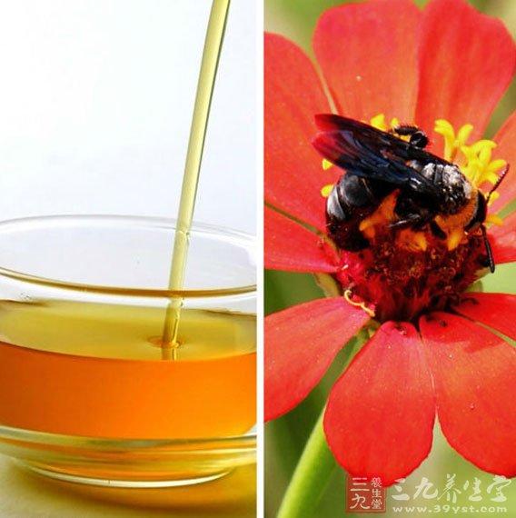 蜂蜜可以美容