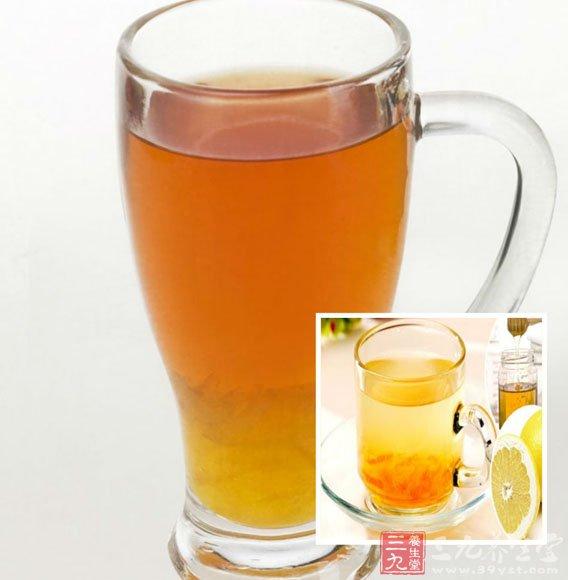 蜂蜜柚子茶做法三