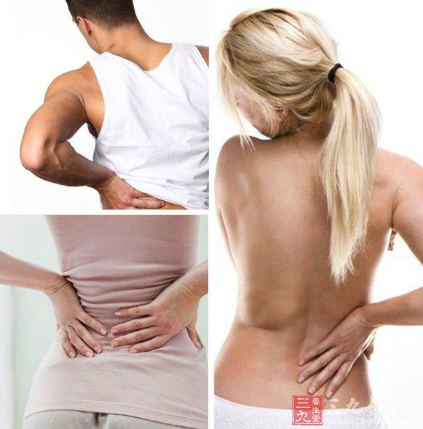 部分患者会不明原因出现肾区疼痛,一般为单侧腰痛,也可以