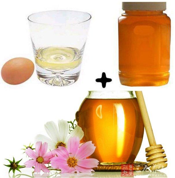 秘方4(蜂蜜+奶粉+鸡蛋清)