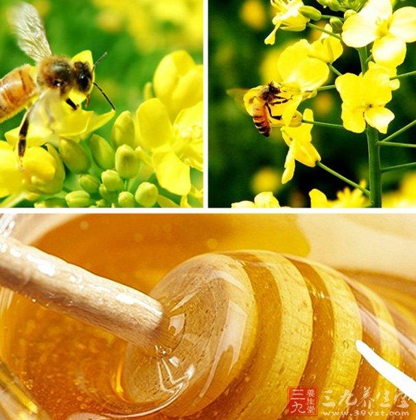 油菜花蜂蜜的功效