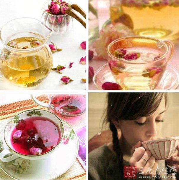 玫瑰蜂蜜茶性质温和
