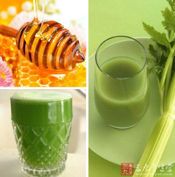 芹菜蜜汁功效