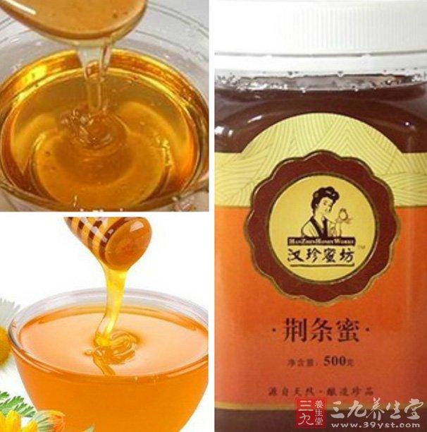 荆条蜜的蜜源