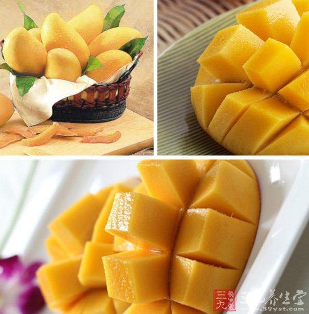 芒果的功效与作用 吃芒果有什么好处 高清图片