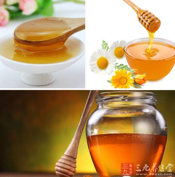 蜂蜜水,有利于清理肠胃
