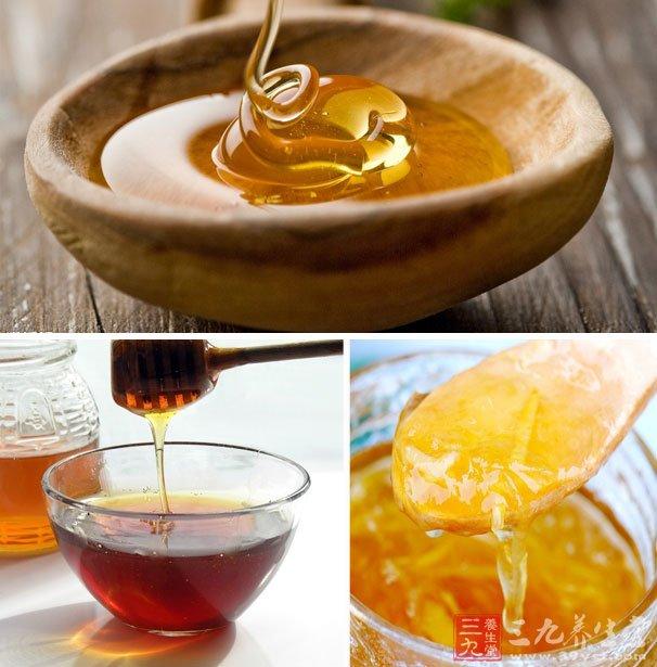 蜂蜜与食物相克