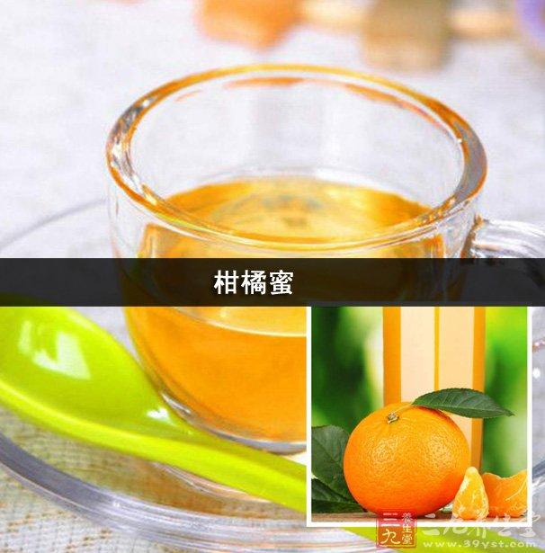 柑橘蜜有燥湿化痰、理气调中之功效。