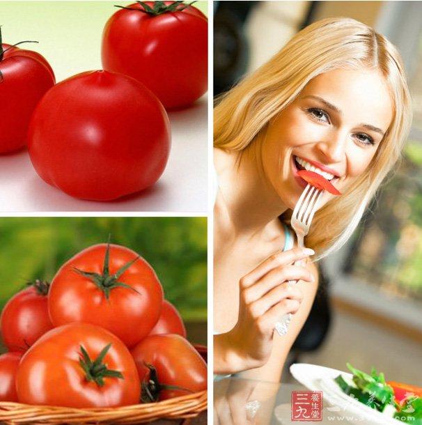 """""""番茄红素有植物黄金之称,它属类胡萝卜素的一种,是自然界中最强的抗氧化剂。"""",它的抗氧化作用是胡萝卜素的两倍,具有极强的清除人体自由基的作用,还能促使细胞的生长和再生,起到延缓衰老的作用。   番茄最有效吃法:生吃不如熟吃,熟吃又不如喝番茄汁。熟吃西红柿比生吃更容易吸收茄红素,因为,茄红素是脂溶性物质,它遇油加热之后,更容易被人体所吸收。但是,西红柿的加热时间不要过长,最好不要超过30分钟。因为加热时间过长的话,西红柿中的茄红素就会被自动分解掉。   桑葚"""