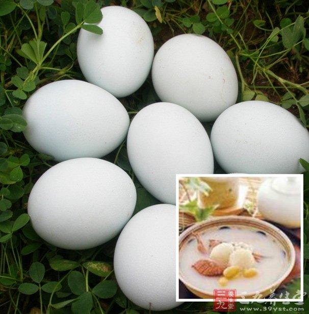 生地炖鸭蛋 药用价值高的美食