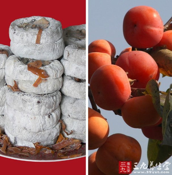 空腹吃柿子易患胃柿石症,尽量在饭后1小时左右食用