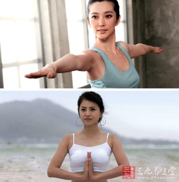 瑜伽视频教程瘦身丰胸面瘫瑜伽动作打教学针瘦脸图片