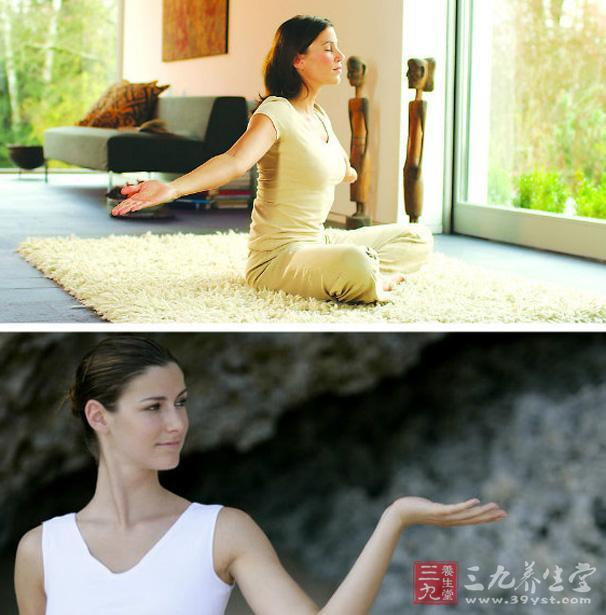 瑜伽视频教程 曲影瘦腿瑜伽半蹲式教学图片