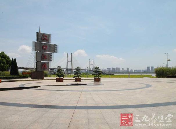 汉口江滩广场是世界上大的广场,临近的汉口江滩与武汉长江大桥